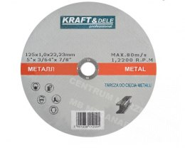 TARCZA DO METALU 125x1mm