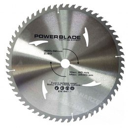 M09075 TARCZA WIDIOWA 400x32mm 60T POWER BLADE