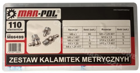 M66499 Kit KALAMITEK METRIC 110szt