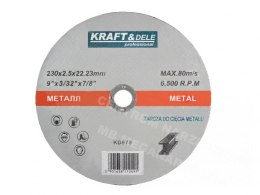 TARCZA DO METALU 230x2mm