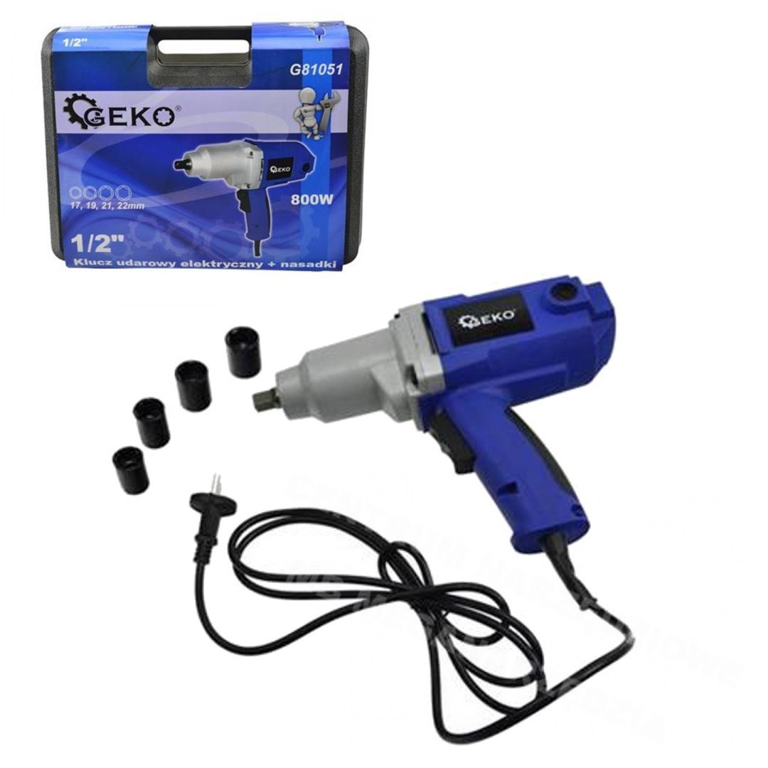 IMPACT WRENCH ELECTRIC 800W 320Nm 1/2 STROKE