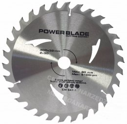 M09070 TARCZA WIDIOWA 300X32mm 30T POWER BLADE